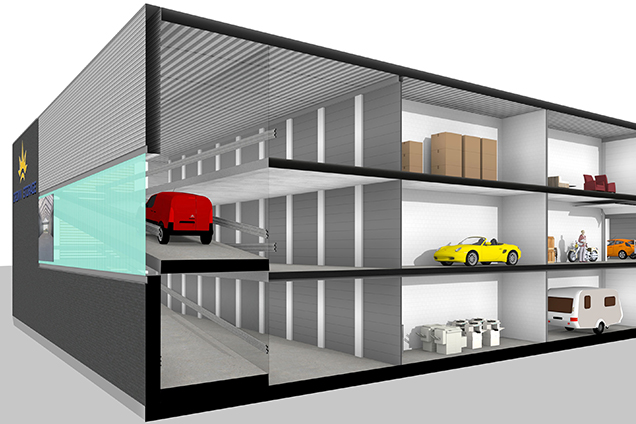 Opslagunits in Alphen a/d Rijn | Crown Storage Center